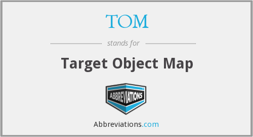 TOM - Target Object Map