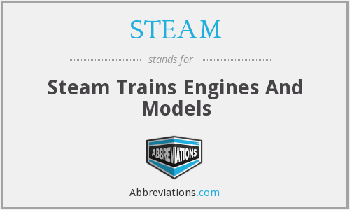 STEAM - Steam Trains Engines And Models