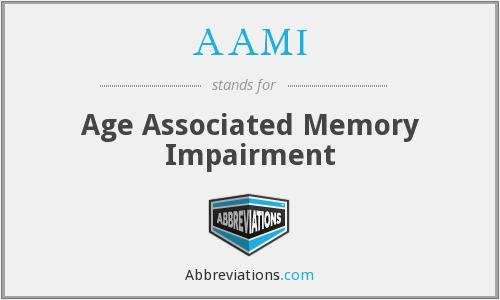 What does AAMI stand for?
