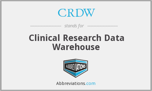 What does CRDW stand for?