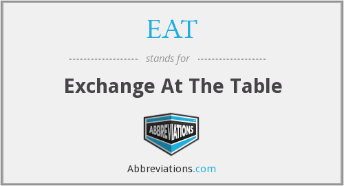 EAT - Exchange At The Table