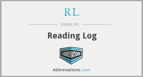 RL - Reading Log