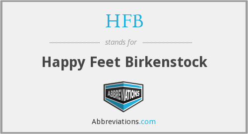 What does birkenstock stand for?