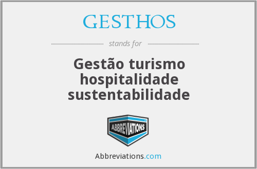 What does GESTHOS stand for?