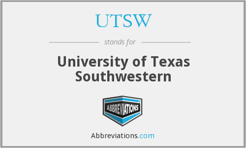 What does UTSW stand for?