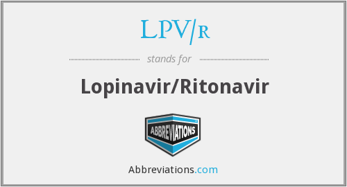 What does LPV/R stand for?