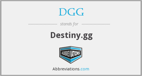 What does D.GG stand for?