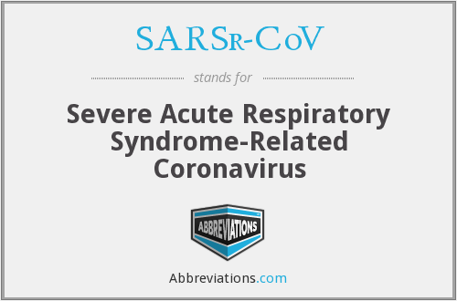 What does SARSR-COV stand for?