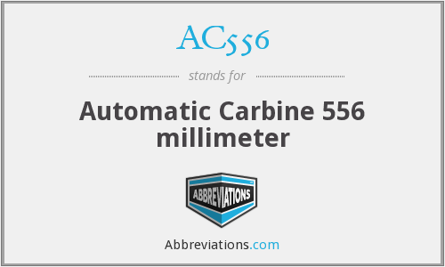 What does AC556 stand for?