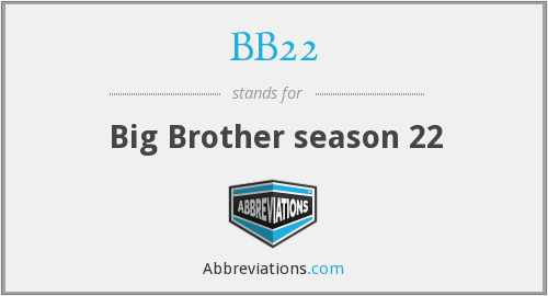 What does BB22 stand for?
