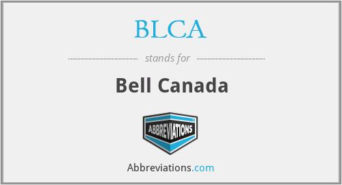 BLCA - Bell Canada