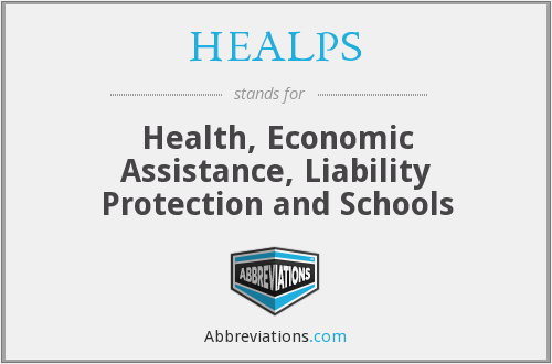 What does HEALPS stand for?