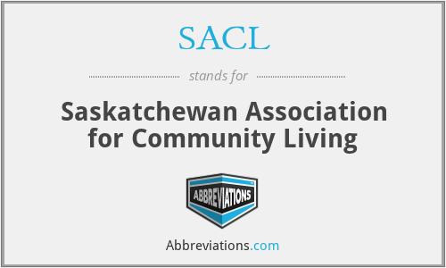 SACL - Saskatchewan Association for Community Living