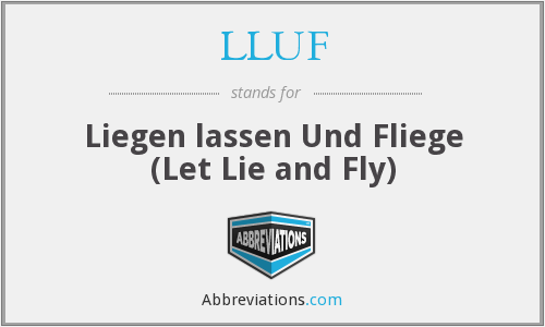 What does LLUF stand for?