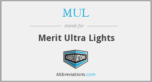 MUL - Merit Ultra Lights