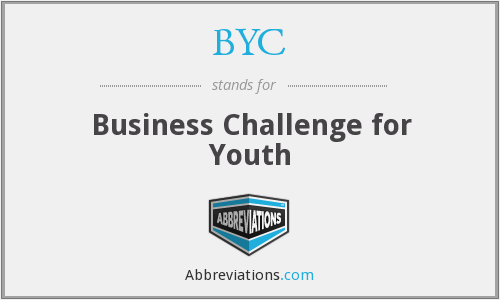 BYC - Business Challenge for Youth