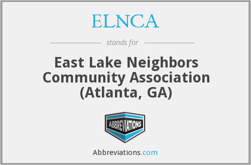 What does ELNCA stand for?