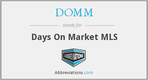 What does DOMM stand for?