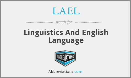 What does LAEL stand for?