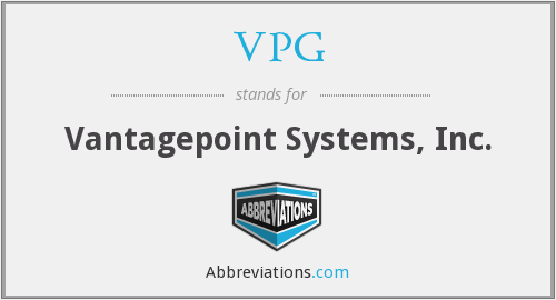 What does VPG stand for?