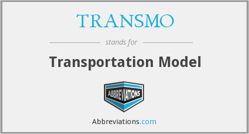 What does TRANSMO stand for?