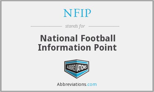 What does NFIP stand for?
