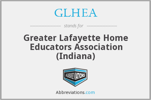 What does GLHEA stand for?