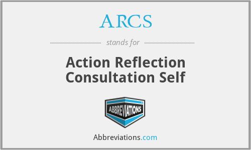 ARCS - Action Reflection Consultation Self