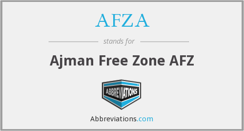 What does AFZA stand for?