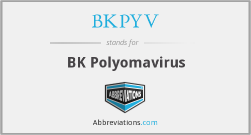 What does BKPYV stand for?