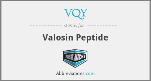 VQY - Valosin Peptide