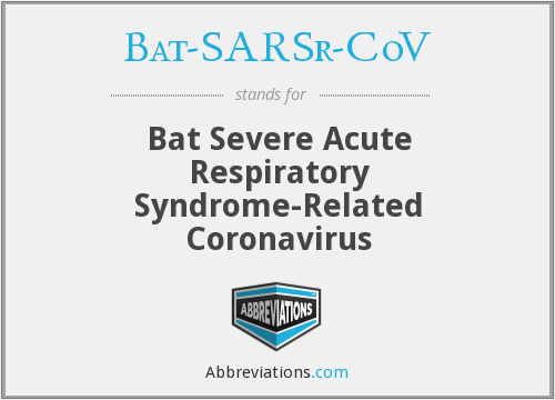 What does BAT-SARSR-COV stand for?
