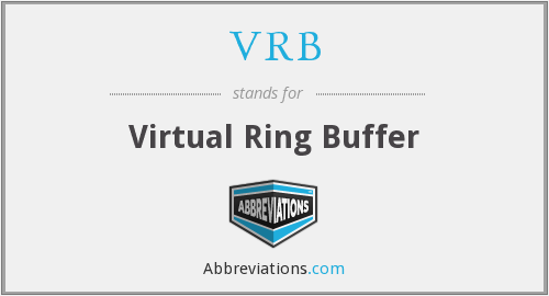 What does VRB stand for?