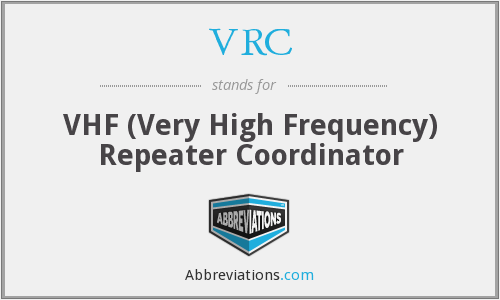 VRC - VHF (Very High Frequency) Repeater Coordinator