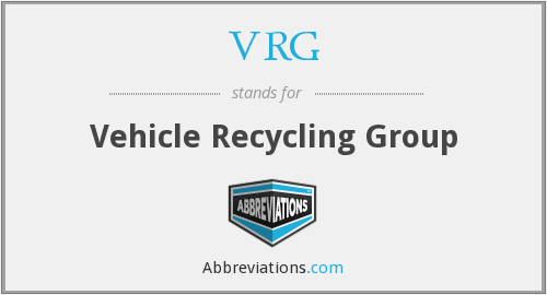 VRG - Vehicle Recycling Group