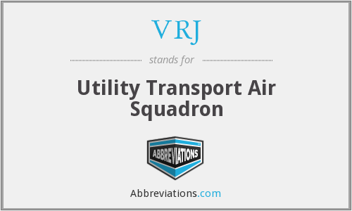 VRJ - Utility Transport Air Squadron