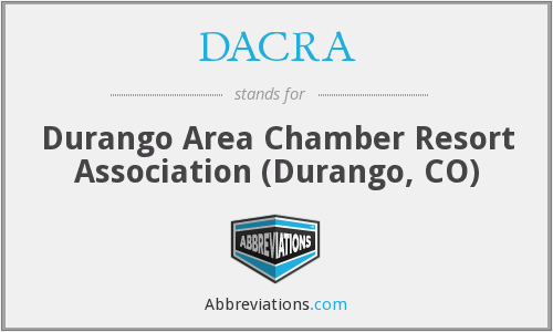 What does DACRA stand for?