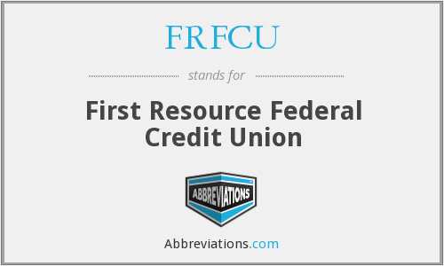 What does FRFCU stand for?