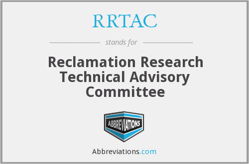 What does RRTAC stand for?