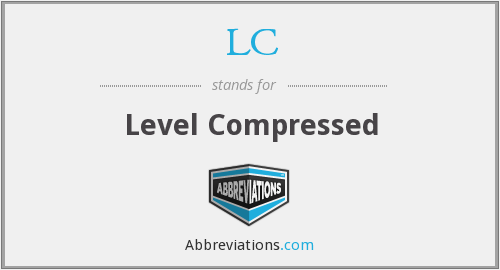 LC - Level Compressed
