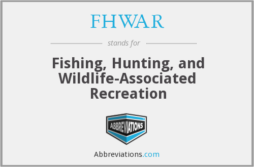 What does FHWAR stand for?