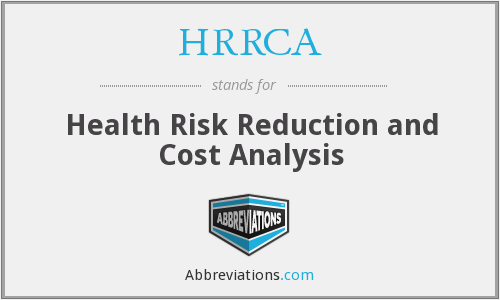 What does HRRCA stand for?