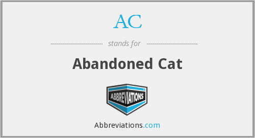 AC - Abandoned Cat