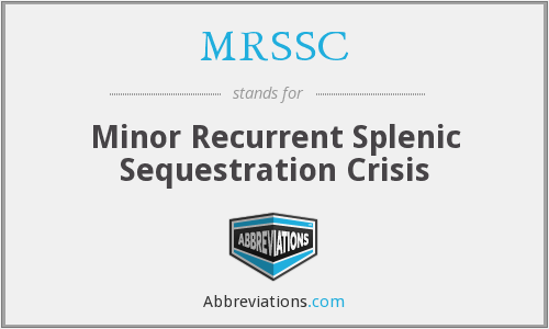 What does MRSSC stand for?