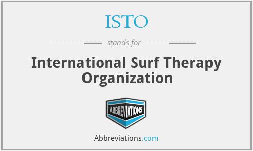 ISTO - International Surf Therapy Organization