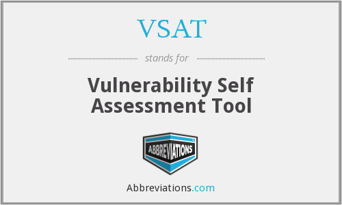 VSAT - Vulnerability Self Assessment Tool