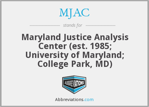 What does MJAC stand for?