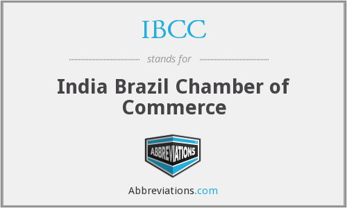 IBCC - India Brazil Chamber of Commerce