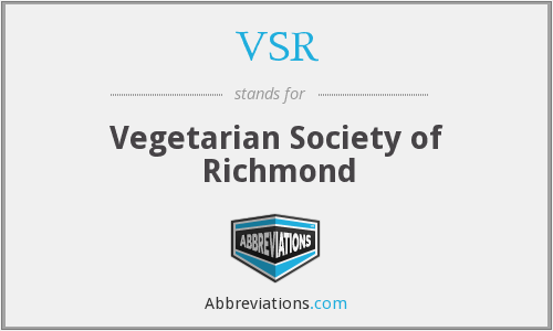 VSR - Vegetarian Society of Richmond