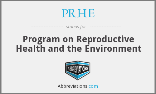 What does PRHE stand for?